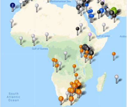 Veldingenieurs van SDWAN SOLUTIONS in AFRIKA