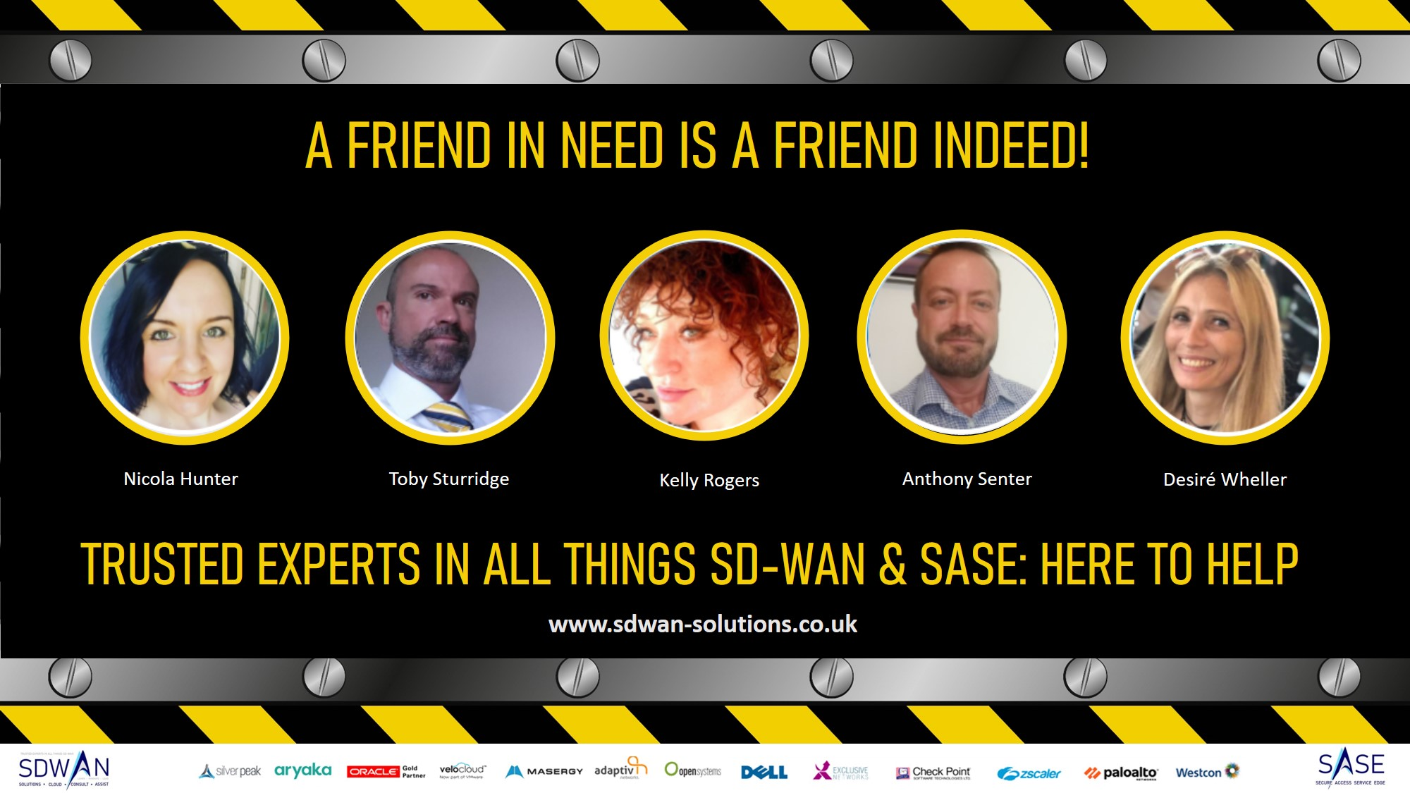 SDWAN Solutions team - here to help