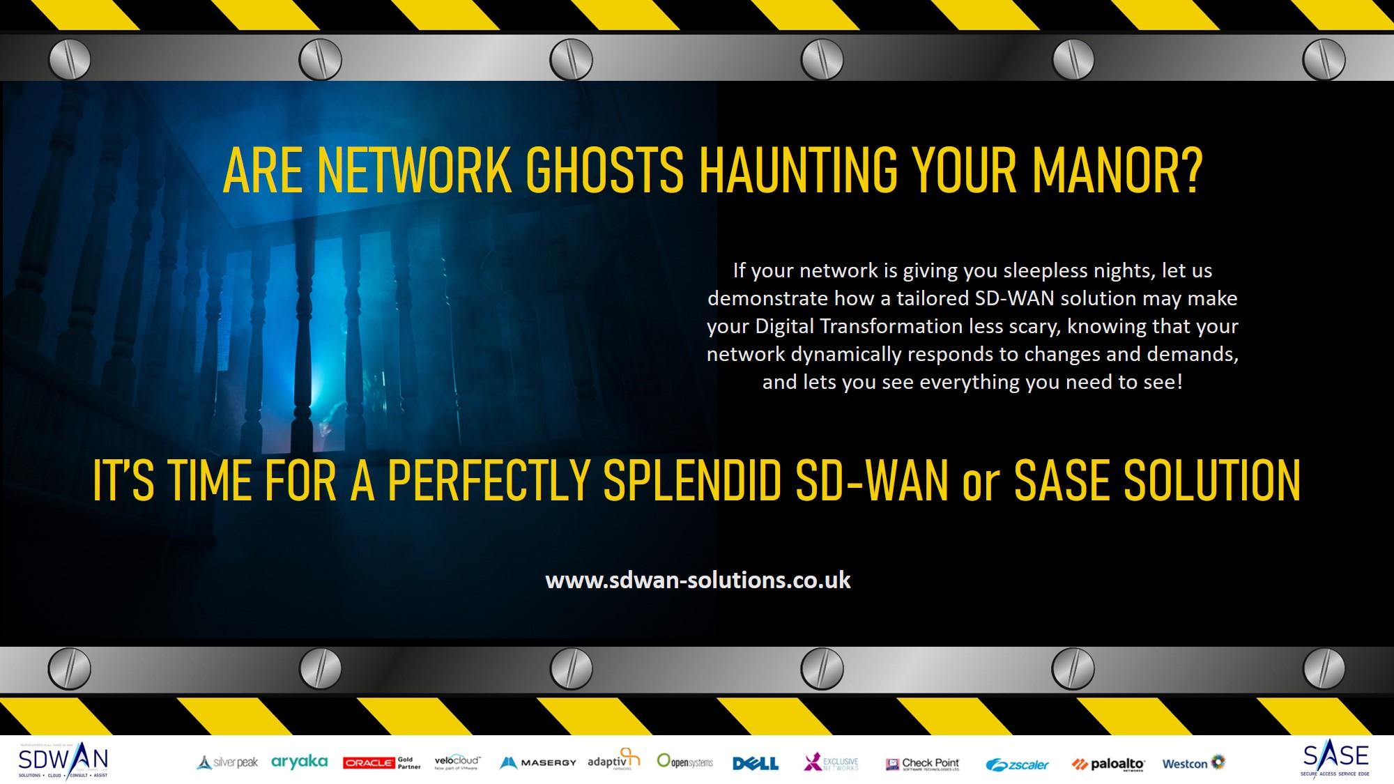 Perfectly splendid SD-WAN or SaSe network