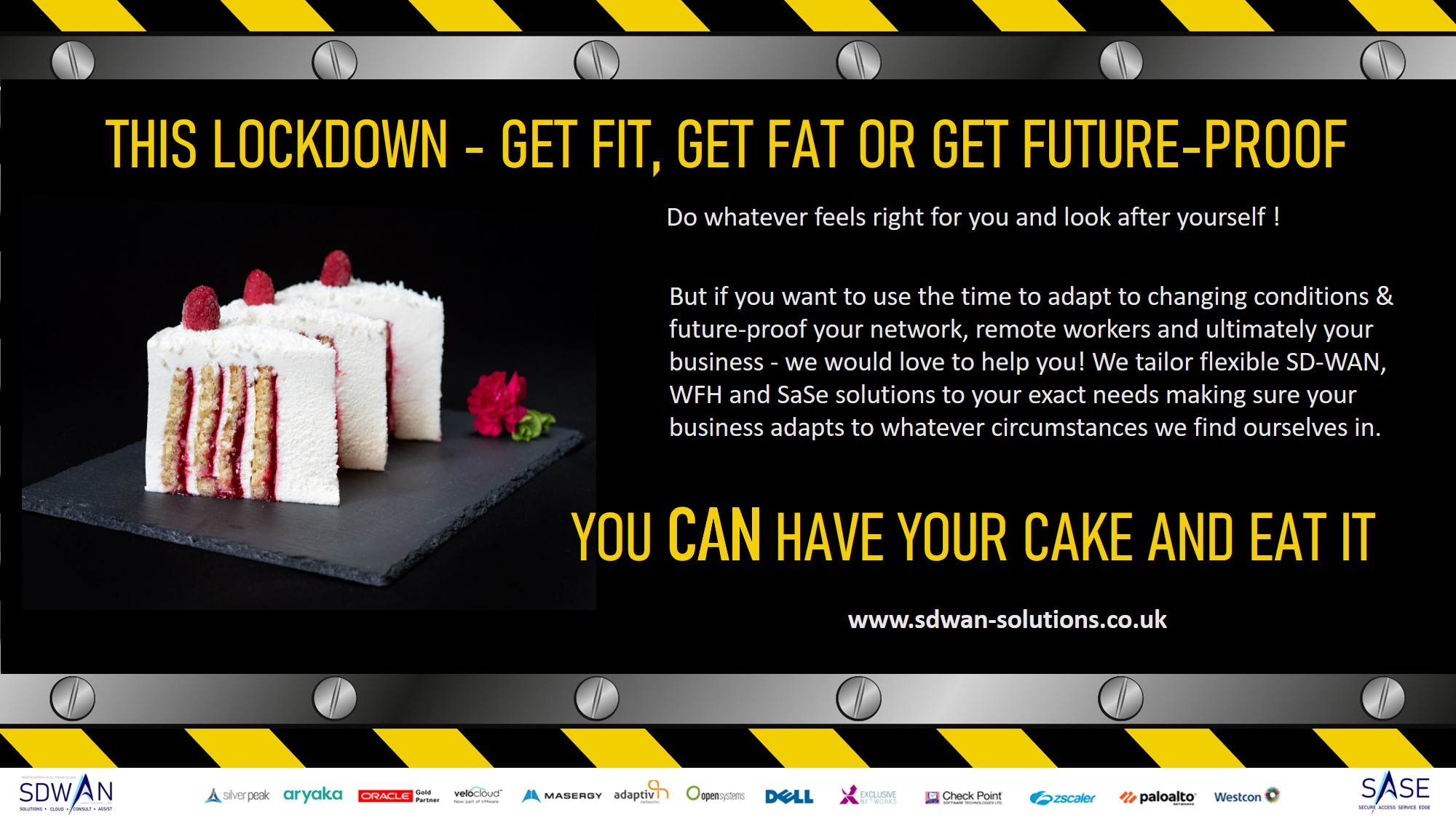 You can have your cake and eat it with SD-WAN