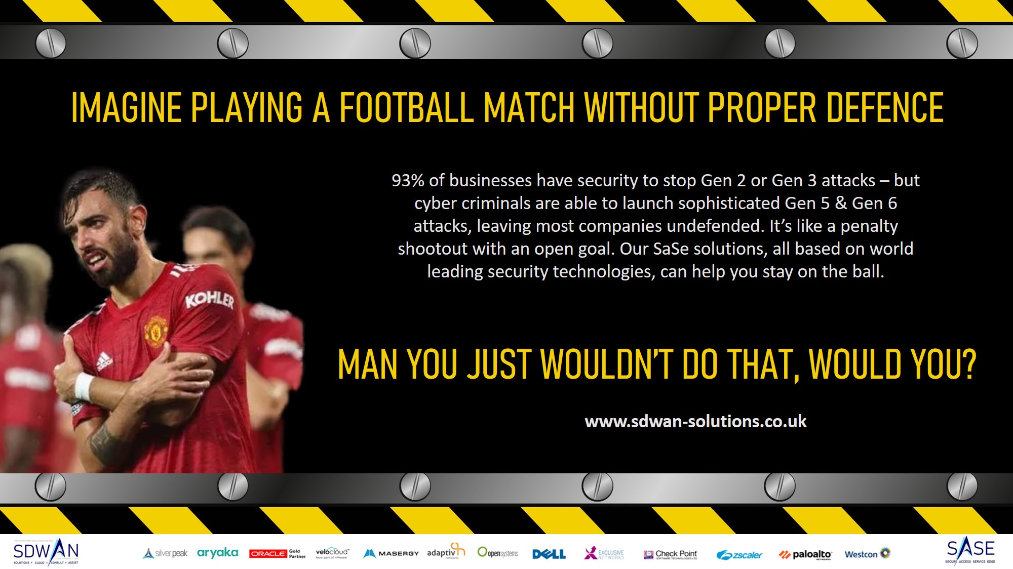 Security is vital, Manchester United hack