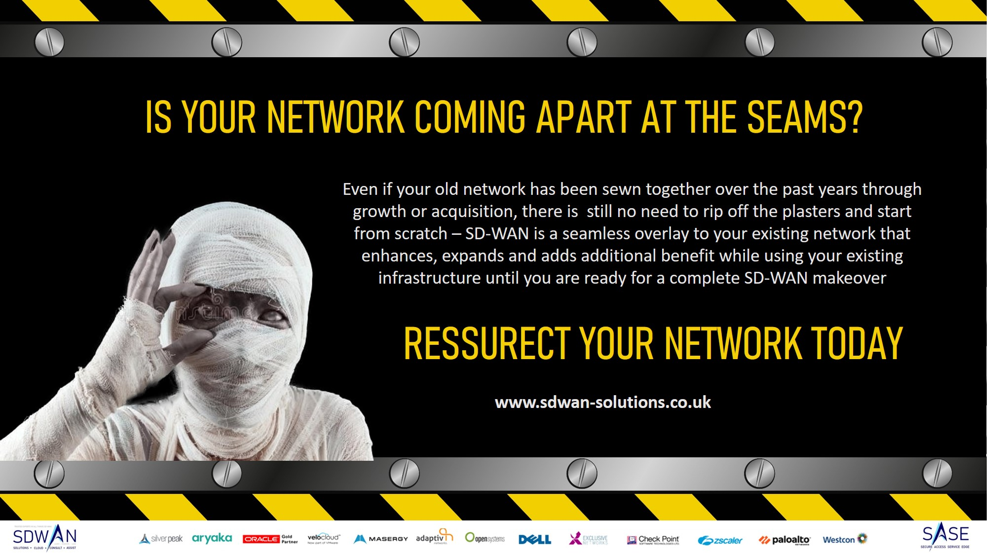 Is your network coming apart at the seams