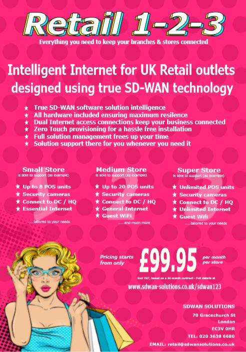 SDWAN 1-2-3 RETAIL - from SDWAN Solutions